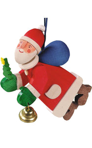 Graupner Ornament - Santa with Bell