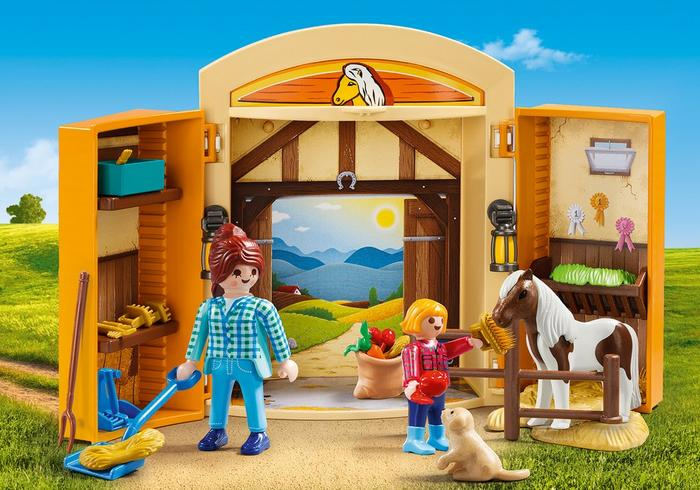 Pony Stable Play Box