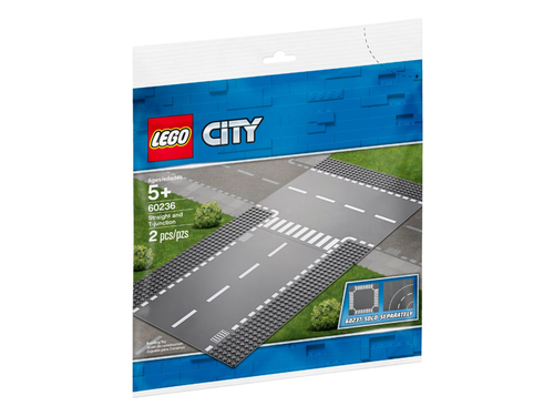LEGO 60236 Straight and T-junction