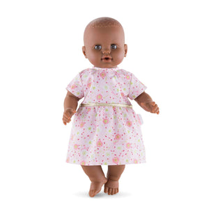 "Pink Dress for 14"" baby doll"
