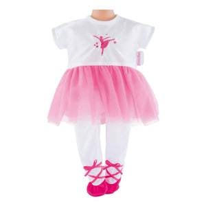 Ballerina Fuschia Suit for 12-inch dolls