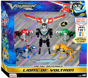 Metal Defender Lions of Voltron