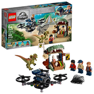 75934 LEGO Jurassic World Dilophosaurus on the Loose
