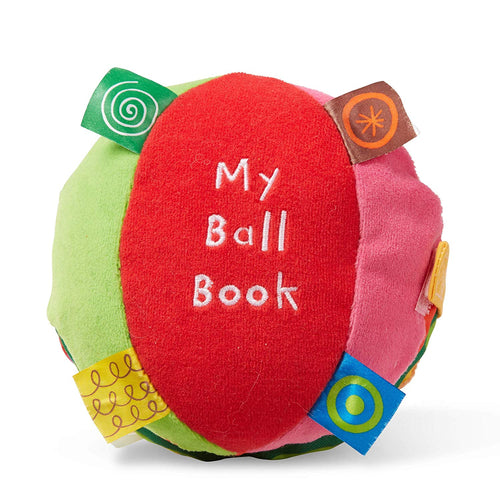 My Ball Book 6-Page Soft Activity Book