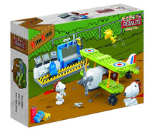 "Peanuts ""Flying Ace - Green Plane"" Building Set by BanBao (#7522)"