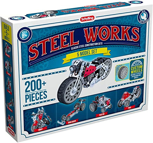 Steel Works 5 Model Set