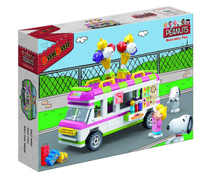 "Peanuts ""Everyday Fun - Ice cream truck"" Building Set by BanBao (#7507)"