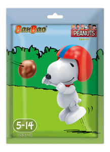 American Football Sport Snoopy - Foil Bag Mini Figure