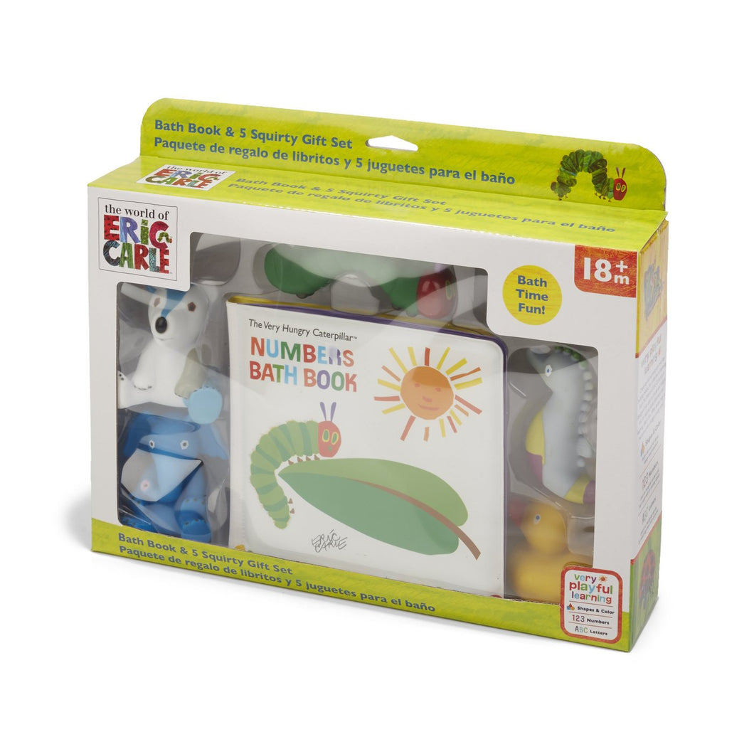 The World of Eric Carle™ Bath Gift Set: Book with 5 Character Squirt Toys