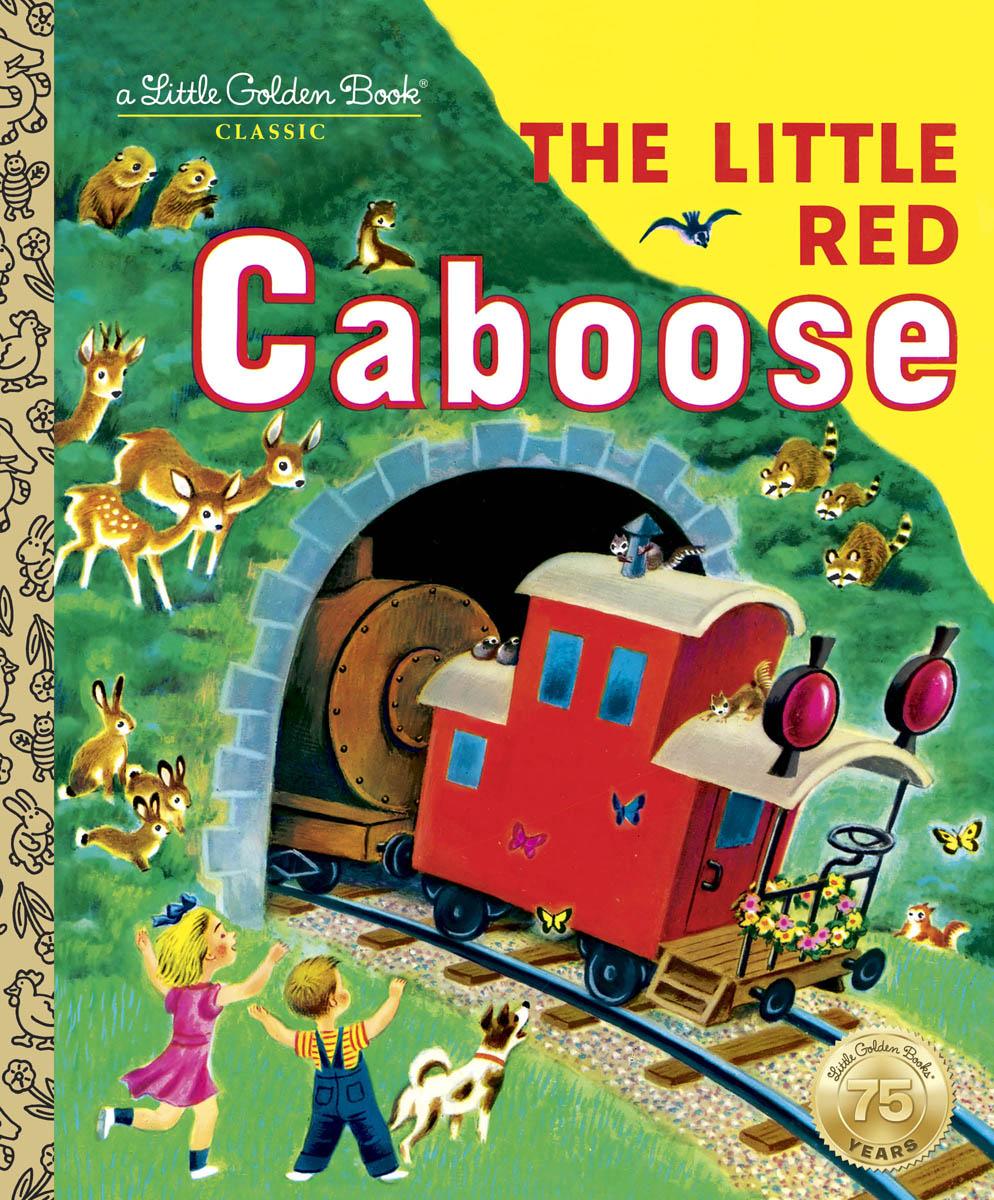 THE LITTLE RED CABOOSE