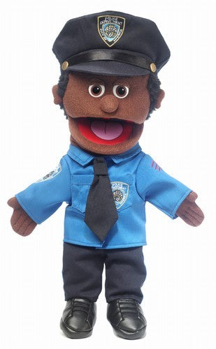 Silly Puppets: Police Officer