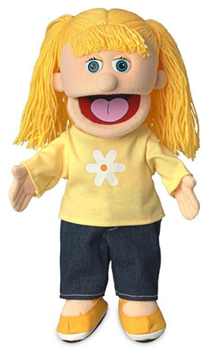 Silly Puppets:  Katie Hand Puppet