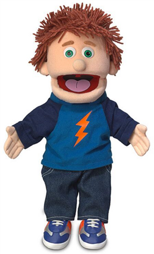 Silly Puppets:  Tommy Hand Puppet