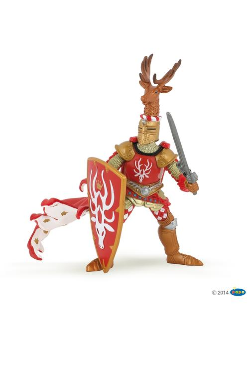 Papo Knight Stag Red