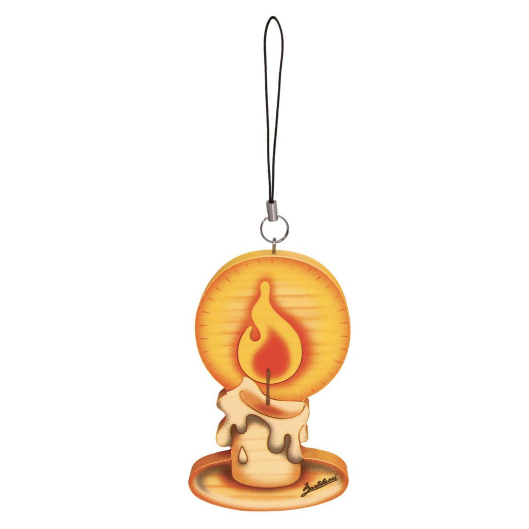 Candle Wooden Ornament
