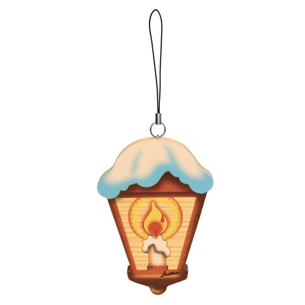 Lantern Wooden Ornament