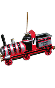 Collectible Tin Ornament - Red Train
