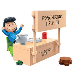 "Peanuts ""Psychiatric Help"" Building Set by BanBao (#7512)"
