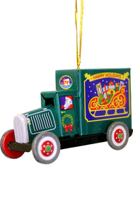 Collectible Tin Ornament - Truck