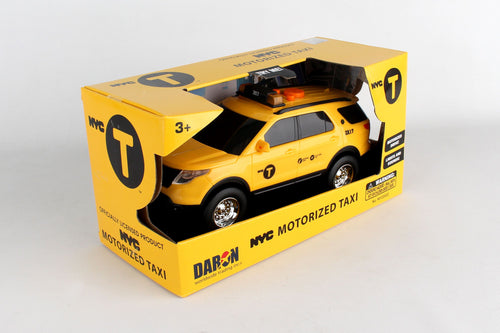 NYC Motorized Taxi w/lights & sound