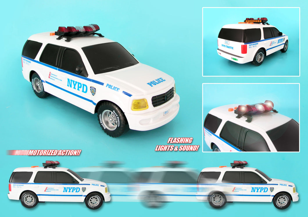 NYPD Motorized SUV w/lights & sound