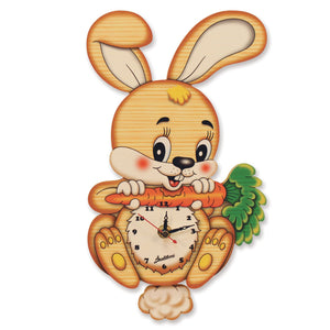 Medium Pendulum Clock - Rabbit