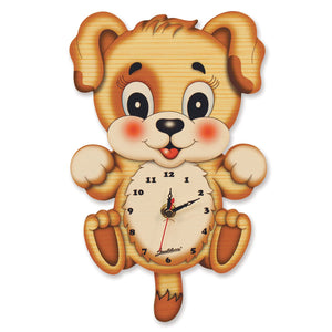 Standard Pendulum Clock - Dog