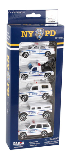 NYPD 5-Piece Vehicle Set
