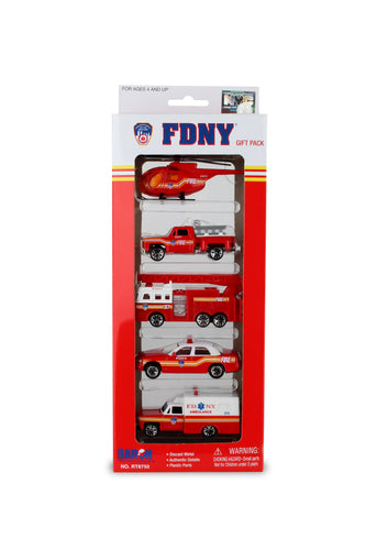 FDNY 5-Piece Vehicle Set