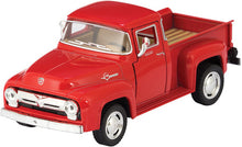 1956 Ford F-100, Die-Cast, Pull-back