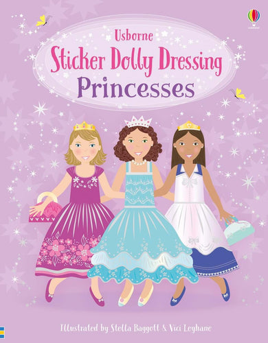 Princesses Sticker Dolly Dressing