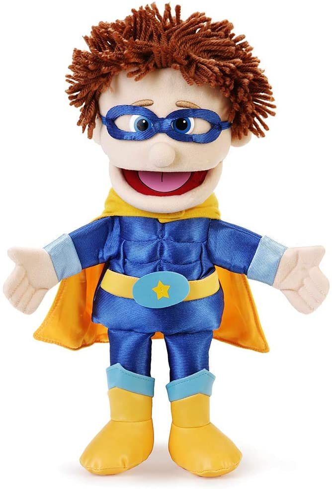 Silly Puppets: Superhero Boy