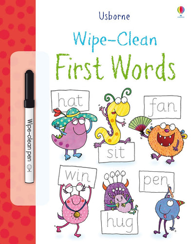 Wipe Clean First Words Book