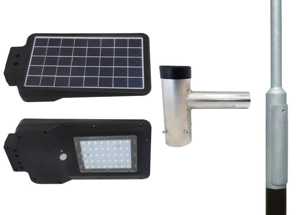 15W Solar LED Street Light & Lighting Column Packages