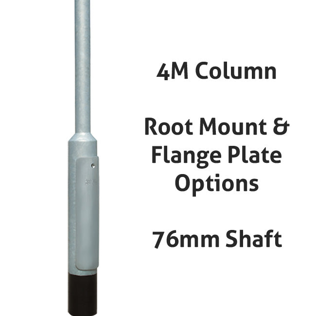 4 Metre Galvanized Lighting Column Lamp Post