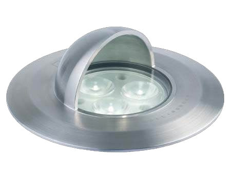 GL034A - 4W Straight to Mains LED Hooded Wall / Ground Light