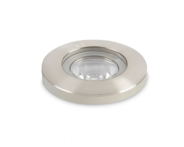 GL019 S T -  1W Round Threaded Mini LED Ground Light