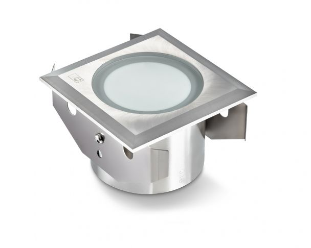 GL051 - 3W LED Square Frosted Ground Light