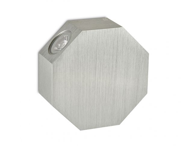 OCTOLED - 4W Rotatable Octagonal LED Wall Light