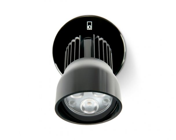 WL140A F - 8W Black LED Wall Light