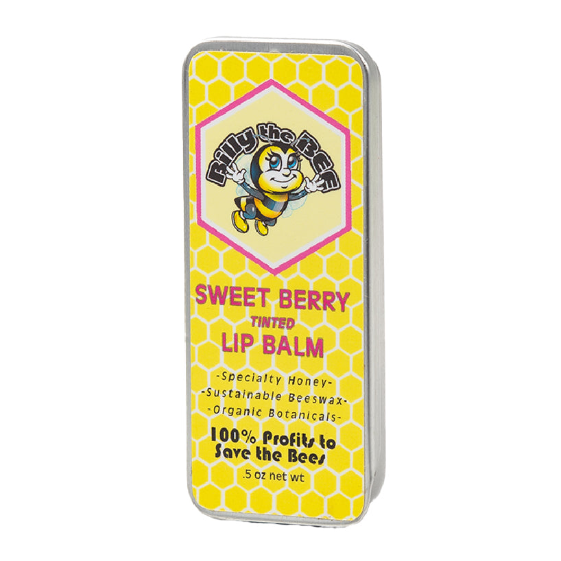 Sweet Berry Tinted Lip Balm from Billy the Bee brand