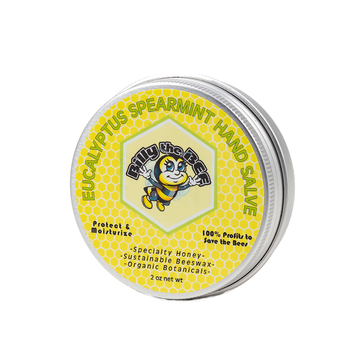 Eucalyptus Spearmint Hand Salve from Billy the Bee brand