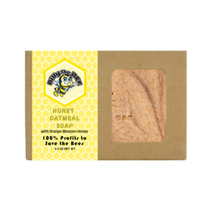 honey oatmeal soap from billy the bee brand