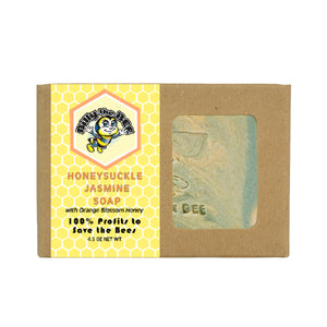 honeysuckle jasmine soap from billy the bee brand
