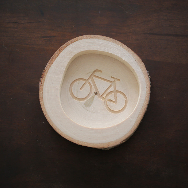 Bicycle Coin Plate