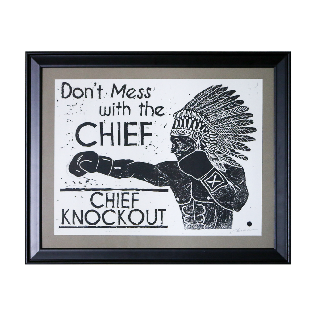 Don't Mess with the Chief, Chief Knockout