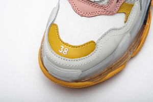 Triple S - White/Pink/Grey