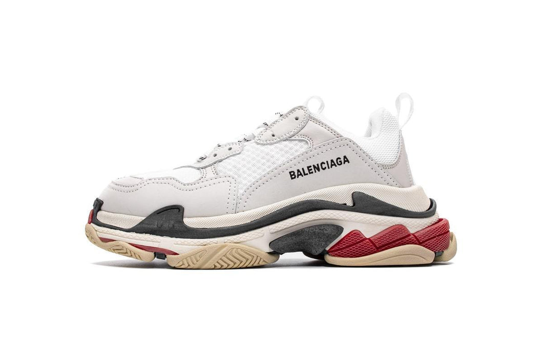 Triple S - White/Red/Black