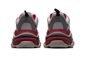 Triple S - Grey/Red