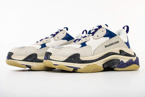 Triple S - White/Blue